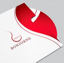 Identidad Corporativa · Diseño y desarrollo web Bodegas Bonjorne. A Br, ing, Identit, Graphic Design, Product Design, Web Design, and Web Development project by Ángela Blesa         - 20.03.2018