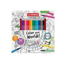 Color your World!. Un proyecto de Ilustración de Marina Lezcano         - 07.01.2016