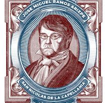 Miguel Ramos Arizpe . Un proyecto de Ilustración vectorial de Abraham García         - 04.04.2018