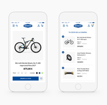 Bikeshop. A Design, UI / UX, and Web Design project by María Marco Medina         - 09.04.2018