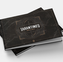 Tarantino's Black Book. A Design, Editorial Design, Graphic Design, T, pograph, and Film project by Max Gener Espasa         - 10.04.2018