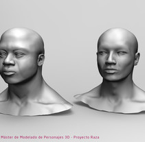 Races Study. A 3D project by Aitor Regidor Vallcanera         - 11.04.2018