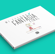 Proyecto Mi Eterna Fantasía Final. Um projeto de Design editorial, Design gráfico e Design de logotipo de Sandra Bermejo Molas         - 23.04.2018